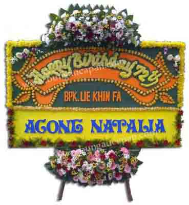 Bunga Papan Happy Birthday