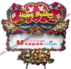 Papan Bunga Wedding 06