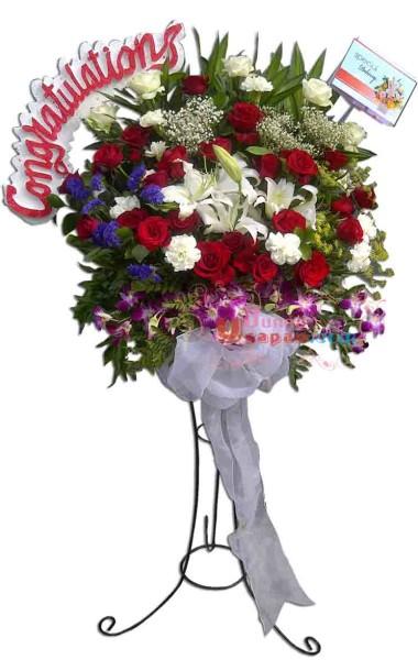Bunga Congratulations Standing Flower