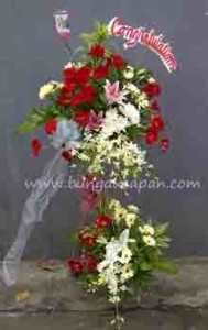 Bunga Standing Selamat (BUSF 12)