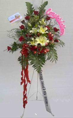 Bunga Standing Selamat Sukses