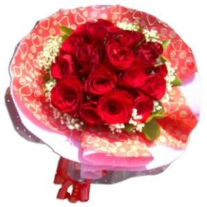 Rangkaian Bunga Mawar BUHB 18