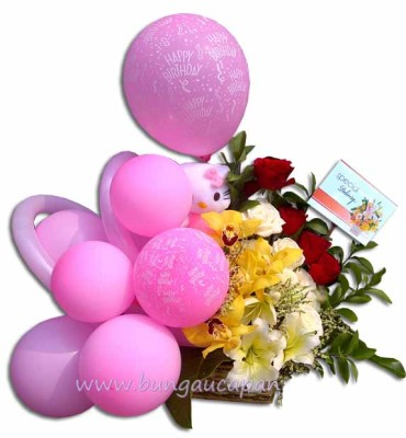 Baby Gift Bunga Balon, baby gift, kado lahiran
