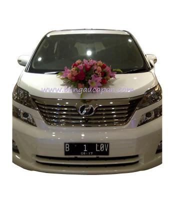 Bunga Mobil Pengantin BUBM 20