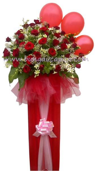 Standing Flower Balon