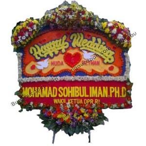 Karangan Bunga Wedding (BUHW 31)