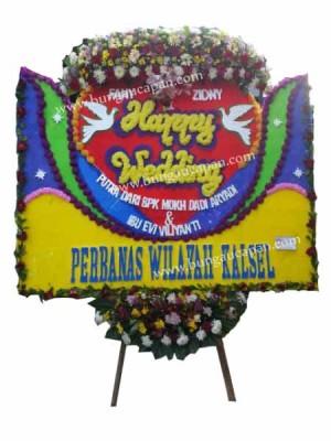 Bunga Happy Wedding Murah
