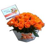 Bunga Ucapan Vas (BUV 17)