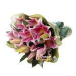 Handbouquet Pink Lily (BUHB 44)