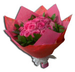 Bucket Bunga Mawar Pink (BUHB 46)