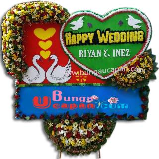 Jual Bunga Happy Wedding