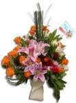 Bunga Meja Lux BURB 45