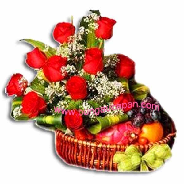 Rangkain Bunga dan Buah