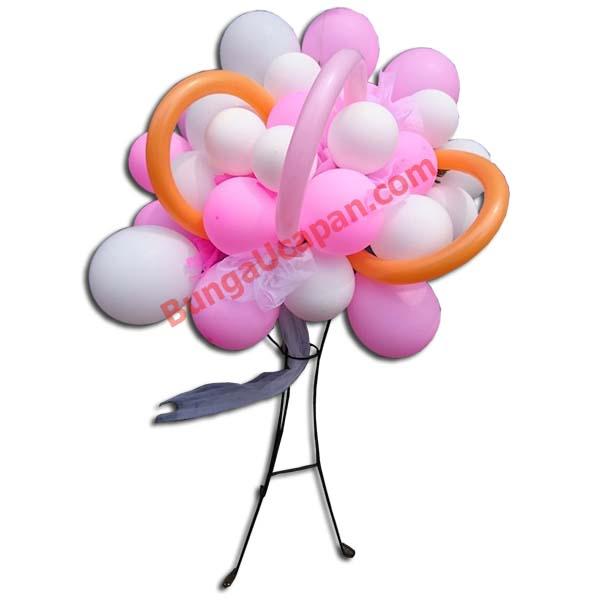 Standing Bunga Balon
