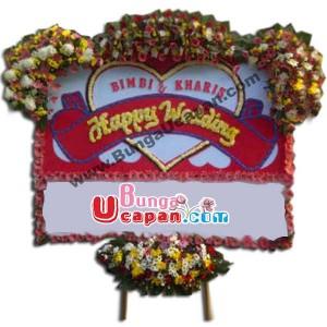 Jual Karangan Bunga Pernikahan BUHW 30