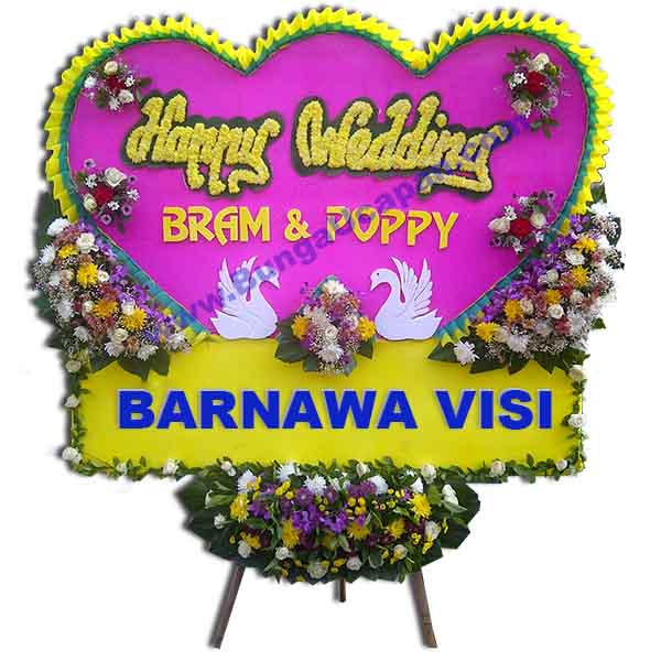 Bunga Happy Wedding BUHW 51