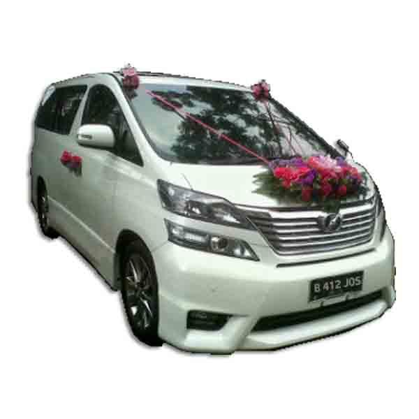 Bunga Mobil Pernikahan
