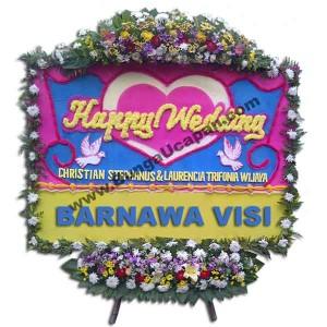 Bunga Papan Pernikahan Murah BUHW 59