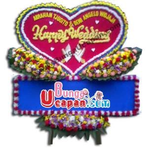Bunga Papan Pernikahan (BUHW 46)