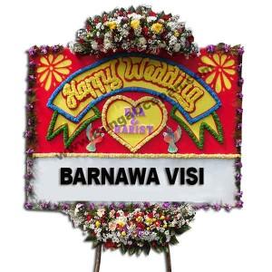 Jual Bunga Papan Pernikahan BUHW 56