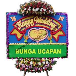 Karangan Bunga Happy Wedding BUHW 54