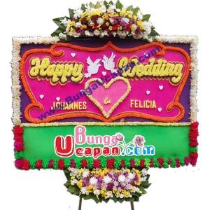 Karangan Bunga Perkawinan BUHW 52