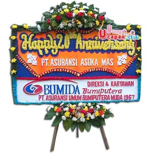 Bunga Karangan Happy Anniversary BUUT 21