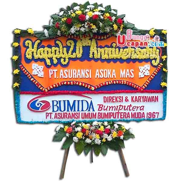 Bunga Karangan Happy Anniversary