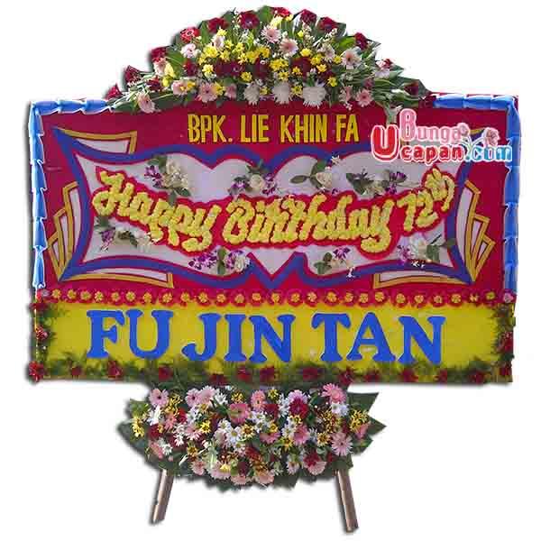 Bunga Happy Birthday