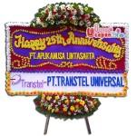 Bunga Papan Happy Anniversary BUUT 18