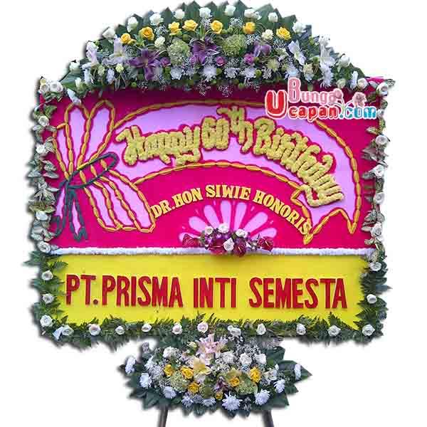Bunga Papan Happy Birthday