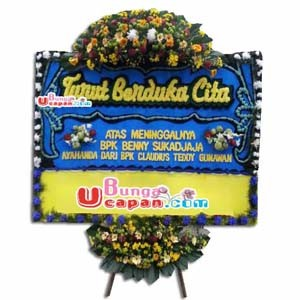 Karangan Bunga Belasungkawa (BUDC 57)