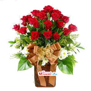 Bunga Mawar Merah (BUV 37)