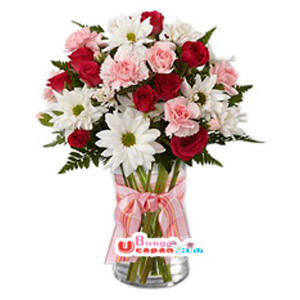 Bunga Vas Mix Flower (BUV 31)